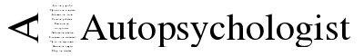 Autopsychologist